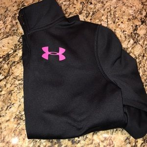 Under armour thermal light weight zip up jacket S
